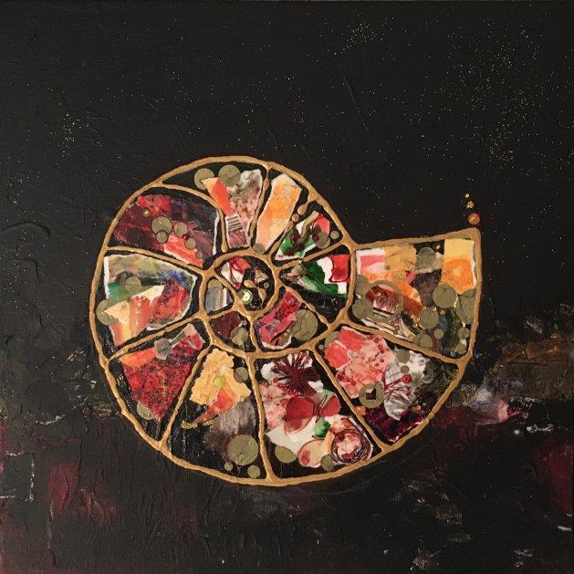 Ammonite: Treasure Trove. Original art by Miranda Pender