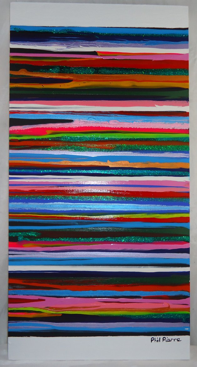Stripes 114. Original art by Phil Pierre