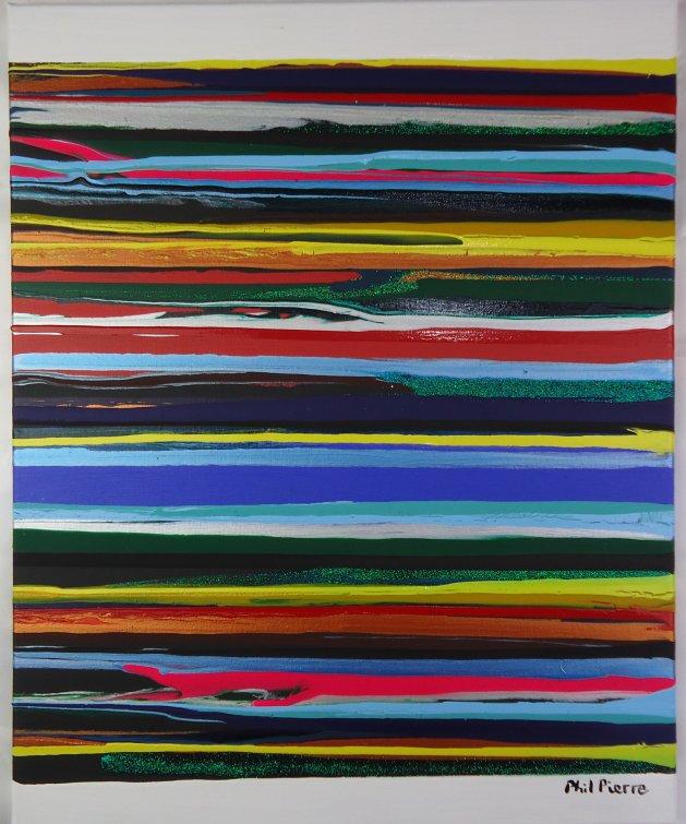 STRIPES 125. Original art by Phil Pierre