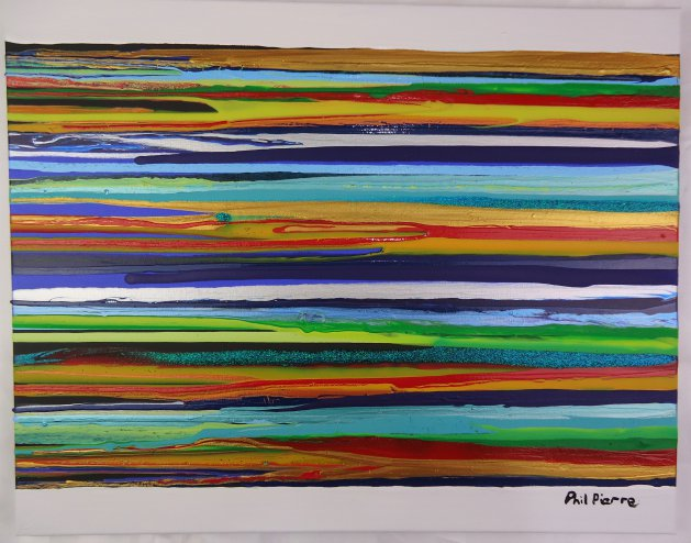 STRIPES 126. Original art by Phil Pierre