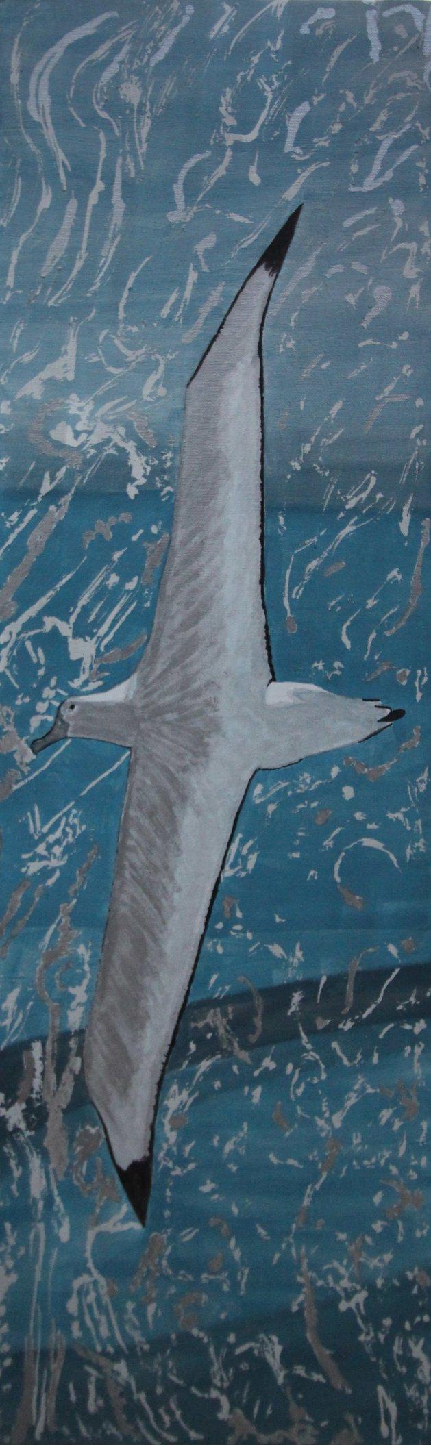 """Albatross"". Original art by Janet Welsby"