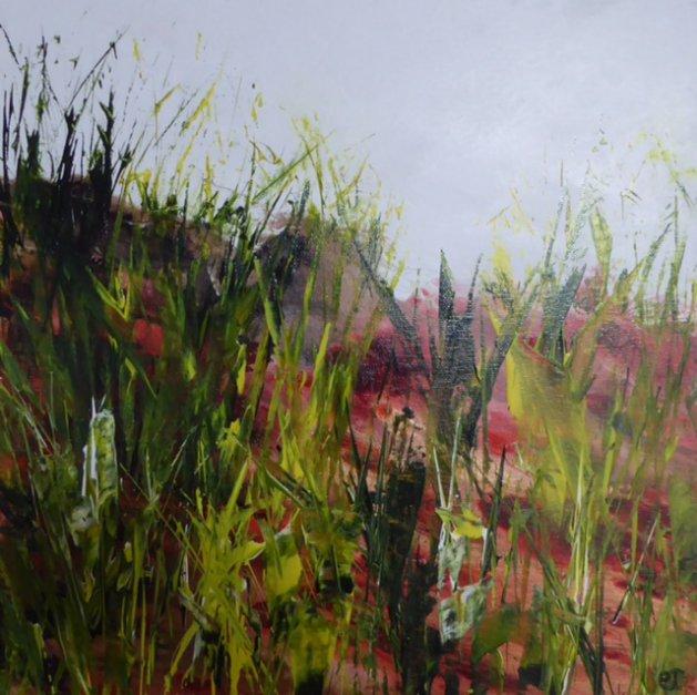Burst of Colour. Original art by Christine Ingram