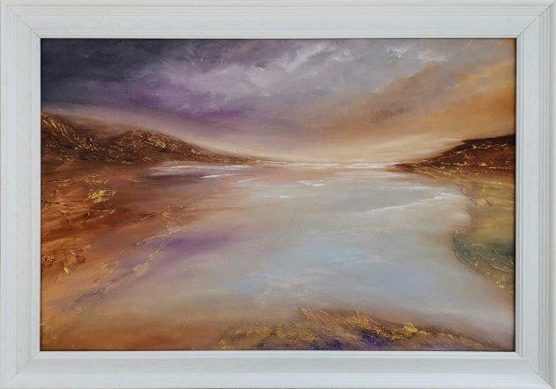 Mystic Isle. Original art by Ken Cowins