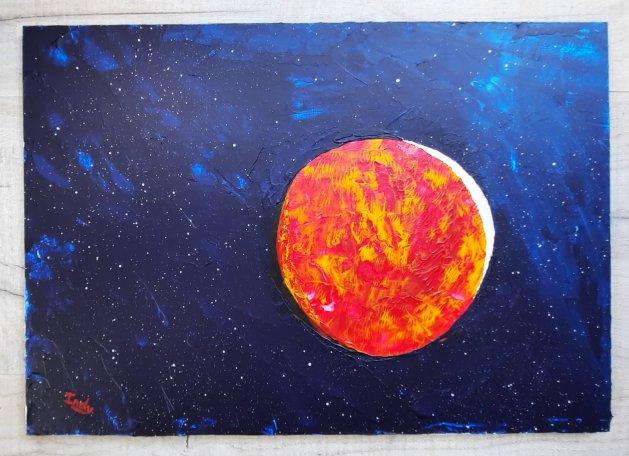 Mars. Original art by Andy Ingram