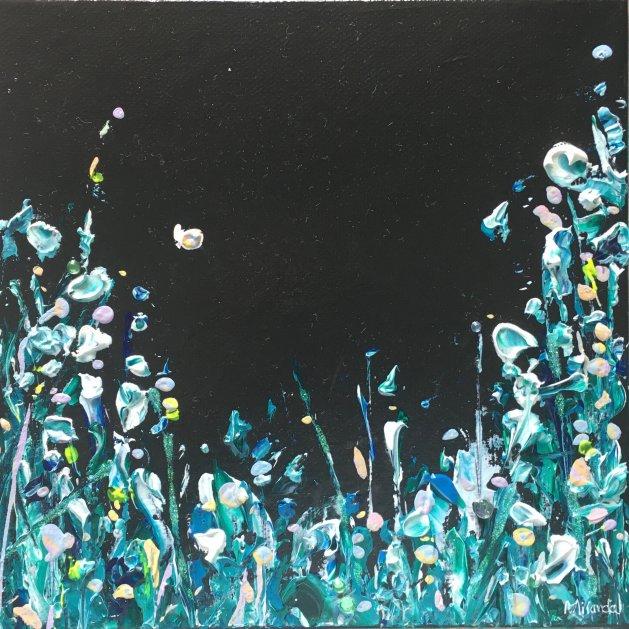Ocean Meadow. Original art by Miranda Pender