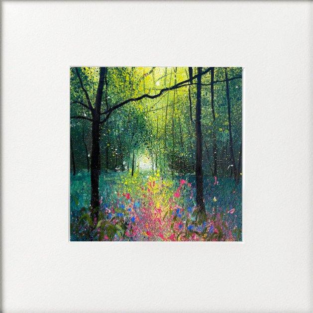 Seasons - Early Summer Wildflower Mix. Original art by Teresa Tanner