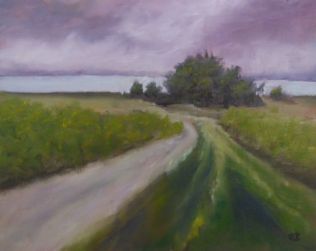 Arne View. Original art by Christine Ingram