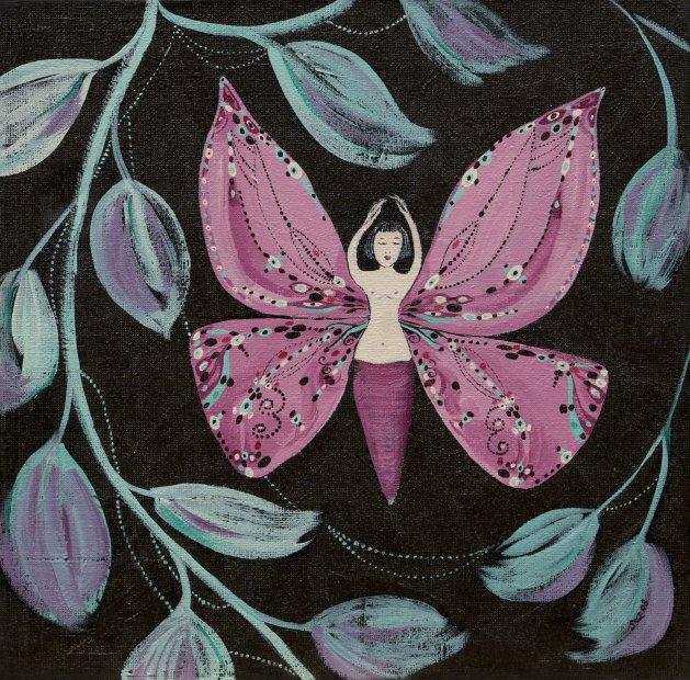 Bindi. Original art by Sue Wright