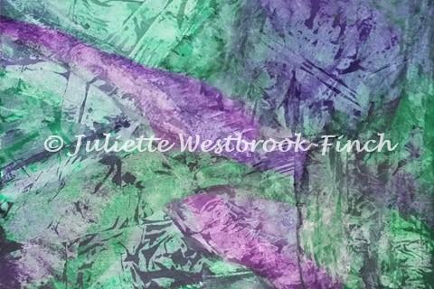 UNDERWATER (Original). Original art by Juliette Westbrook-Finch