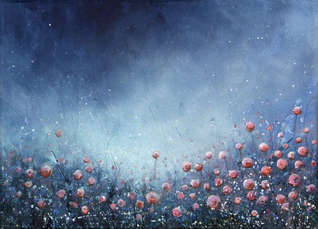 June Meadow. Original art by Tracey Unwin