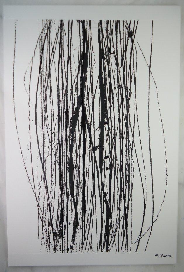 STRING 130. Original art by Phil Pierre