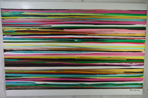 Stripes 135. Original art by Phil Pierre